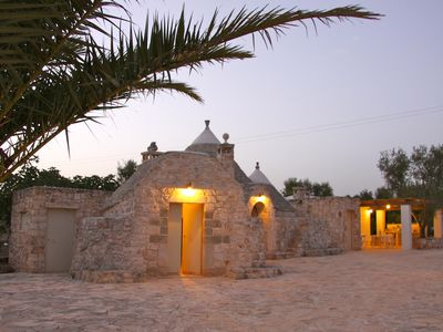 Photo for gorgeous trullo with pool nestled in the countryside perfect for 2-6 people