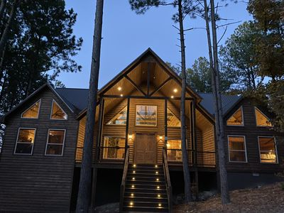 Photo for Brand New Cabin!The Ames High Lodge, NEW LUXURY CABIN, Broken Bow Oklahoma!