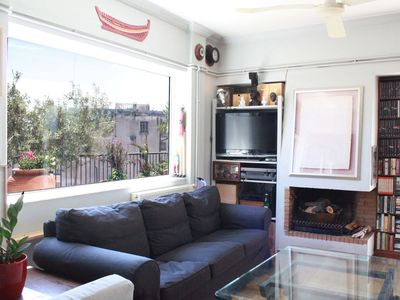 Photo for Your home in Athens. A great apt with large balcony and amazing views!