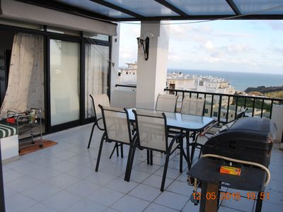 Photo for ALBUFEIRA DUPLEX FLAT - GREAT VIEW - SWIMMING POOL