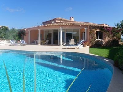 Photo for for rent nice villa with pool in Miramar, Théoule