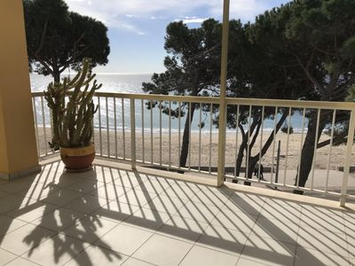 Photo for Miramar apartment in Cambrils with air conditioning, balcony & lift.