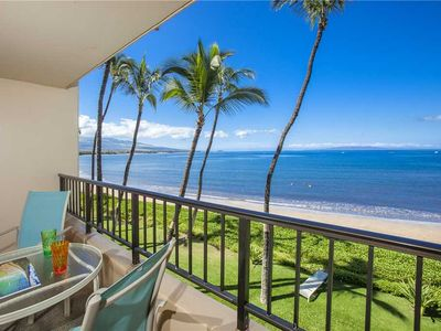 Photo for Well appointed Ocean Front Condo on the third floor of the Sugar Beach Resort #326