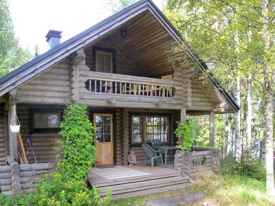 Photo for Vacation home Huovinen (FIJ131) in Tuusniemi - 6 persons, 1 bedrooms