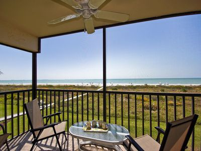Photo for Sandalfoot 1D2 WAKE UP TO GLORIOUS SUNRISES from this beachfront end unit!