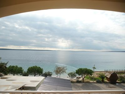 Photo for One bedroom apartment near beach Mandre, Pag (A-4092-f)