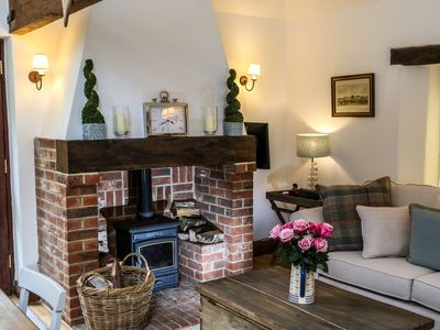 Photo for Luxury self catering Barn Nr Goodwood.