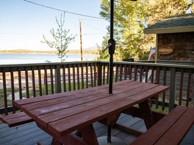 Photo for Lakeside Cabin Cozy 2BR Resort Cottage / Boat Dock / Near Marinas
