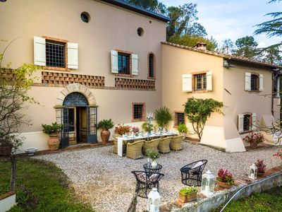 Photo for VILLA VIOLA an historic Villa with Garden close to Lucca with Air Conditioning