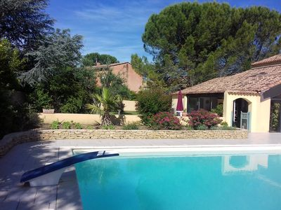 Photo for PRETTY HOUSE IN QUIET, 3 KM VAISON LA ROMAINE, WITH LARGE SECURE SWIMMING POOL