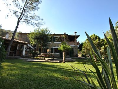 Photo for This Cycling Friendly villa with swimming pool is located in the Tramuntana