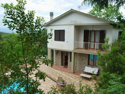 Photo for Large comfortable villa with views, garden and swimming pool