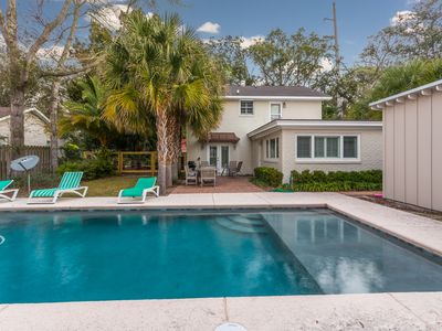 Photo for Latitude Adjustment at East Beach Home with option to Heat or Cool Pool.