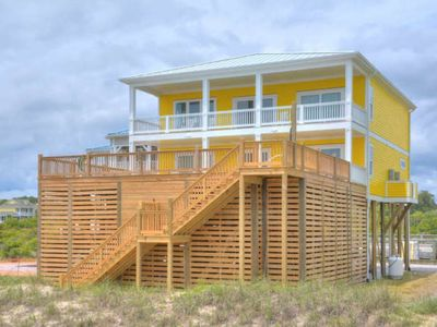 Photo for Brand New, Absolutely Gorgeous 7 BR/6 BA Oceanfront Home with Elevator & Private POOL-Sleeps 19