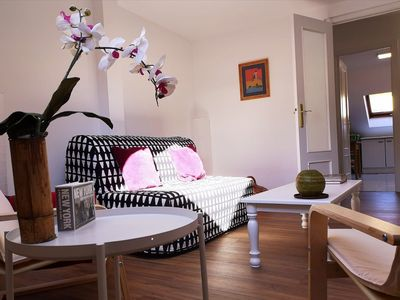 Photo for Penthouse central, spacious and bright.