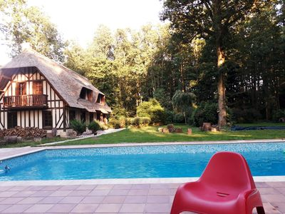 Photo for Norman house with pool in the countryside
