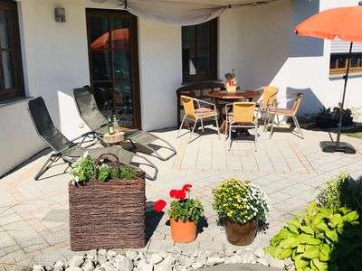 Photo for Zollern-Alb Aktiv apartment rental - beautiful view and terrace (max 5 pers.)