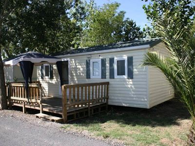 Photo for Camping Les Salisses **** - Mobilhome for 8 People