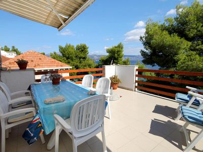 Photo for Two bedroom apartment near beach Lumbarda, Korčula (A-9260-a)