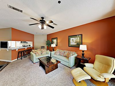 Photo for New Listing! Updated All-Suite Getaway w/ 3 Outdoor Pools - Walk to Beach!