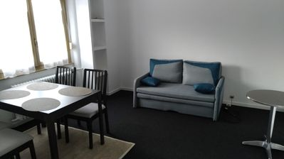 Photo for 3 room apartment, quiet street, close to shops