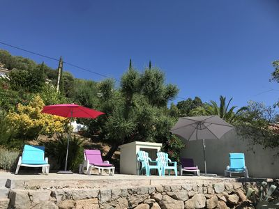 Photo for private apartment with pool overlooking bay of santa giullia