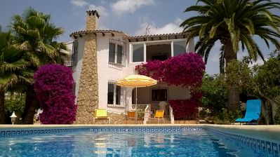Photo for Moraira: villa with swimming pool