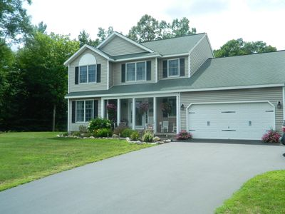 Photo for Saratoga Springs Home Just Five Miles From Saratoga Racetrack With Inground Pool