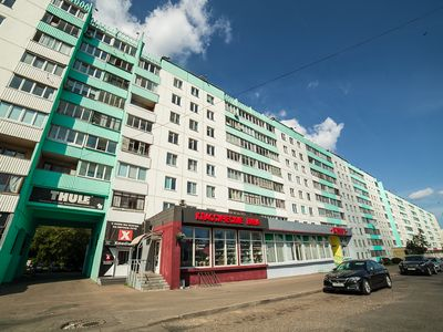 Photo for Clean and comfortable apartment, 50 meters from the metro Pushkinskaya