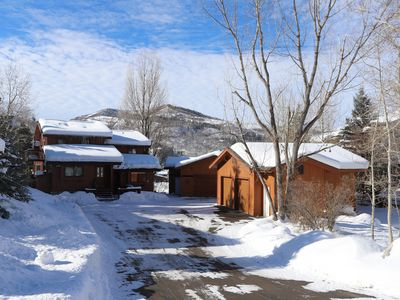 Photo for Luxury Steamboat Home on golf course Sleeps 15; dog friendly; Minutes from lifts