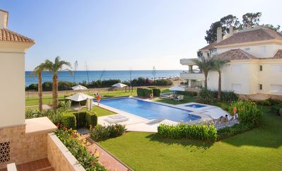 Photo for 214 Luxury Apartments-Estepona, 2 B'room, 28c All Year 20m Heated Pool