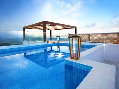 Photo for Newly restored elegant villa with panoramic sea views