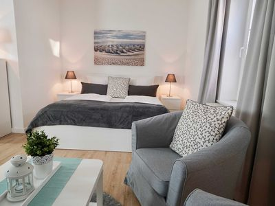 """Photo for Holiday apartments Vilm (H) - Apartment house """"Johanneshorst"""""""