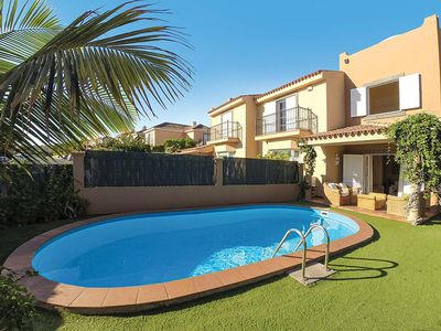 Photo for 3 bedroom Villa, sleeps 6 in Meloneras with Pool, Air Con and WiFi