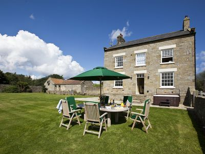 Photo for Superb Georgian farmhouse with breathtaking views over North York Moors