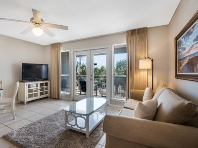 Photo for Breathtaking condo, Waterfront views, Minutes to the beach