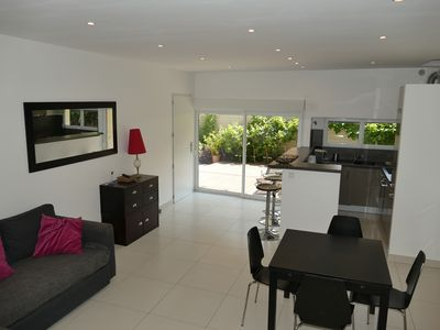 Photo for Superb T2 Cassis, south, in the bottom of villa 2-4 people