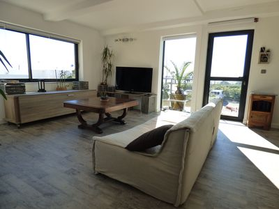 Photo for Modern apartment 80 M2, for 6, splendid terraces 60 M2, free parking