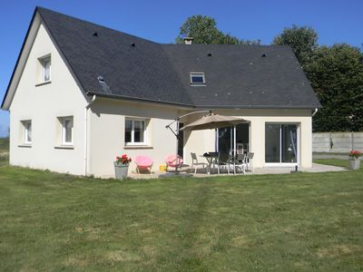 Photo for Detached holiday home with green surroundings, just 1km from Etretat