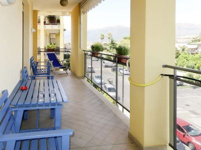 Photo for Albenga Apartment, Sleeps 4 with Air Con and Free WiFi
