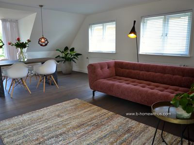 Photo for BERGEN: NEW since May 2019 - beautifully furnished apartment with roof terrace