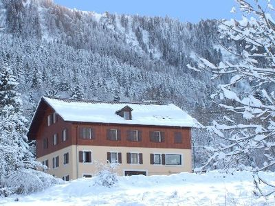 Photo for 36 persons chalet with view of the Leman lake and the MÈmises mountain
