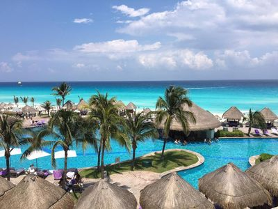 Photo for Luxurious 5 Star Paradisus Cancun oceanfront full service resort, Sleeps 2-8