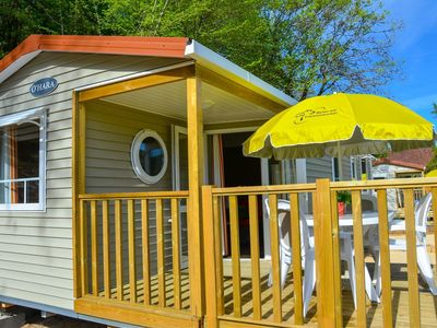 Photo for Camping La Draille - Mobile home Limoges 4 rooms 6 people