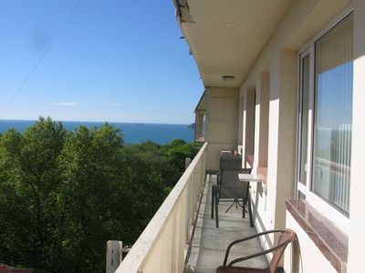 """Photo for Spacious Holiday Apartment """"Melody"""" With Sea View"""