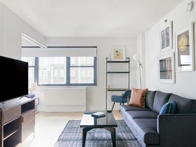 Photo for Sonder | The Nash | Vibrant 1BR + Grilling Area