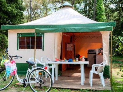 Photo for Camping Les 7 Fonts *** - Tent 3 Rooms 4 Persons