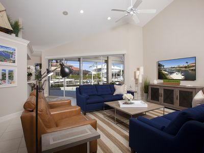 Photo for CHRISTMAS in FIRST CLASS-Boaters Dream-Waterfront Luxury-Walk to Beach-6 Bikes