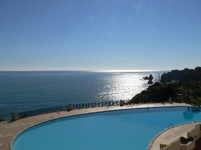 Photo for Spacious frontline studio apartment with panoramic sea views & pool