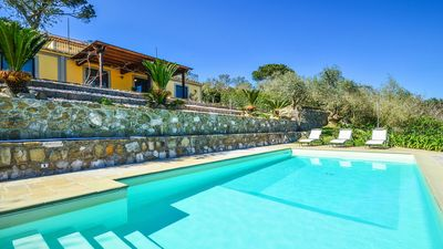 Photo for Villa Amolu - Quality Villa with private pool-solarium seaview in Sorrento Coast